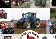 Kandidaterne til Tractor Of The Year er fundet, og nu går kampen om den prestigefyldte titel igang. Grafik: Maskinbladet.
