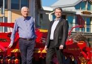 Crister Stark, bestyrelsesformand, Väderstad Holding AB og Jan Engfeldt, CEO Väderstad AB. Foto: Väderstad