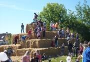 Arrangørerne forventer cirka 3000 børn, når dyrskuet Thy-Mors slår dørene op. Pressefoto.