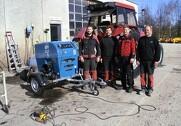 Hos Bøgelund Maskinservice A/S Ringsted og Jørlunde Maskinforretning A/S ved Slangerup har de indkøbt nye traktor dynamometre. Pressefoto.