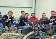 FPT-ekspertteamet: Luigi Antonio Fino, Markus Demant, Manuela Martena, Patrick Joigneaux, Marcus Brinkmann og Jean Raymond Garcon.