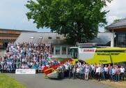 Claas har produceret Lexion-mejetærsker nummer 50.000. Pressefoto.
