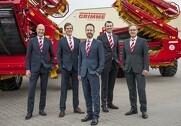 Ledelsen af Grimme Gruppe: Jens Walter, Franz Grimme og Franz-Bernd Kruthaup. Fotos: Grimme