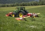 Pöttinger opdaterer den 10 meter Novacat A10 med blandt andet ny drivlinje. Foto: Pöttinger.