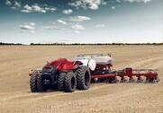 Case IH's koncepttraktor har allerede været på rigtigt markarbejde i det sydlige USA. Pressefoto.