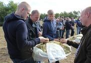 Over 100 besøgte grovfoderdagen. Pressefoto.