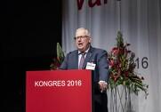 Forbundsformand Ole Wehlast fra Fødevareforbundet NNF er klar til at investere i svineproduktion for at redde danske arbejdspladser. Foto: Rune Evensen