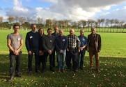 Bestyrelsen består af: Esben Møller Xu, Rud Bruun, Thorkil Brandt-Pedersen, Ole Olsen, Jette Jørgensen, Per Bundgaard Hansen og Otto Kjær. Foto: Erik Suhr.