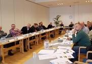 LMO havde 7. december en rigtig fin temadag om græsukrudt med cirka 20 deltagere. Mødet fandt sted hos LMO i Horsens. Foto: LMO