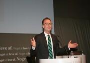 Esben Lunde Larsen skal en tur til Sverige for at promovere dansk økologi. Arkivfoto.