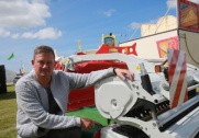 Thomas Birkballe ved den nye østrigske pick-up rive fra Reiter, som allerede er solgt i Danmark. Foto: Morten Damsgaard.