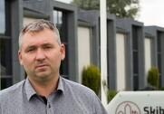 Efter ni år som projektchef og salgsdirektør satte Kenneth Lodahl sig i maj i direktørstolen hos Skibbild Entreprise A/S. Pressefoto.