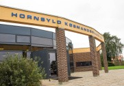 Hornsyld Købmandsgård er en de få private grovvareforretninger i Danmark. Pressefoto.