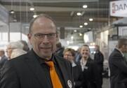 Projektleder Jørgen Kronborg fra MesseC mener, at bedre konjunkturer er en del af forklaringen på Nutrifairs store besøgsfremgang. Foto: Rasmus Dalsgaard.