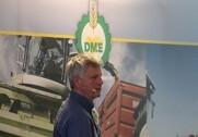 Martin Mikkelsen, landskonsulent hos Seges fortalte på DM&E Vidensdage om store fordele ved gylleplaceret til majs. Foto: Morten Damsgaard.