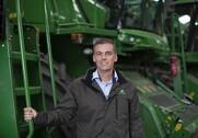 Morten Buus, administrerende direktør i Semler Agro, glæder sig over, at de er  blevet udnævnt til national forhandler af John Deeres landbrugsaktiviteter. Pressefoto.