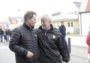 Carl Chr Pedersen (tv) og Thorkild Kjeldsen. Pressefoto.