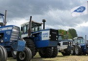 Den specille FW35 er et yderst sjældent syn fra Ford, men til traktortræffet i weekenden, kunne den opleves på nærmeste hold. Fotos: : Emil H. Mariegaard.