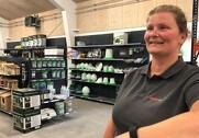 Medarbejderne glæder sig til at byde kunderne velkommen i den nye Danish Agro Shop i Nyborg. Foto: Danish Agro.