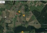 På kortet kan man se hvilke gylletanke, som findes inden for en radius af 10 kilometer fra sin ejendom. Kilde: Seges.