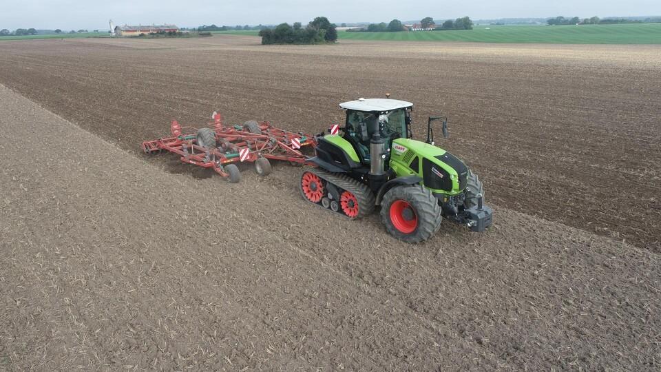 Traktoren til tungt markarbejde med komfort