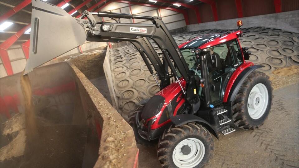 G-serie med høj komfort og udstyr fra større traktorer